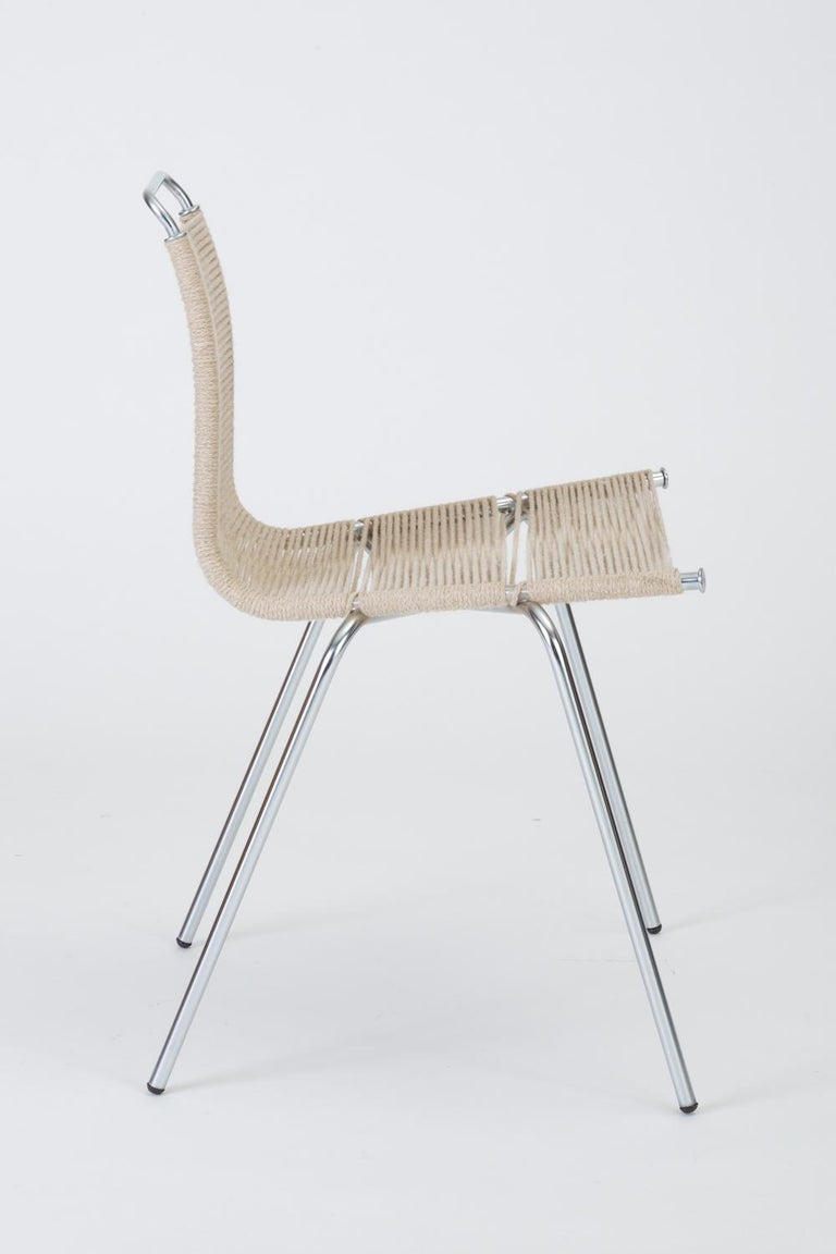 Single PK-1 Dining or Accent Chair by Poul Kjærholm for E Kold Christensen For Sale 3