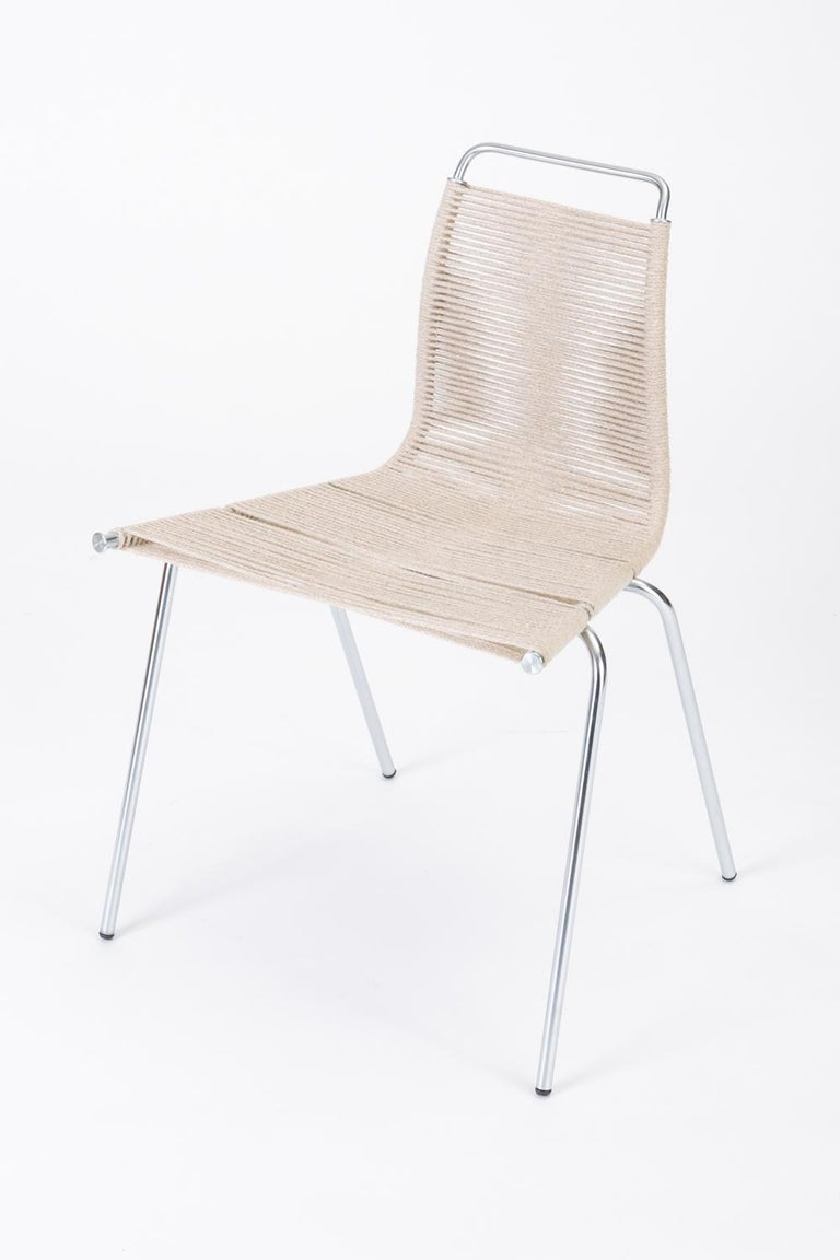 Danish Single PK-1 Dining or Accent Chair by Poul Kjærholm for E Kold Christensen For Sale