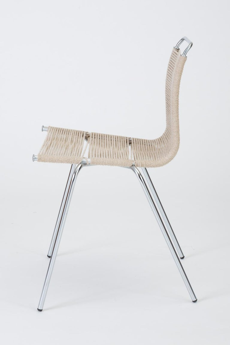 Mid-20th Century Single PK-1 Dining or Accent Chair by Poul Kjærholm for E Kold Christensen For Sale