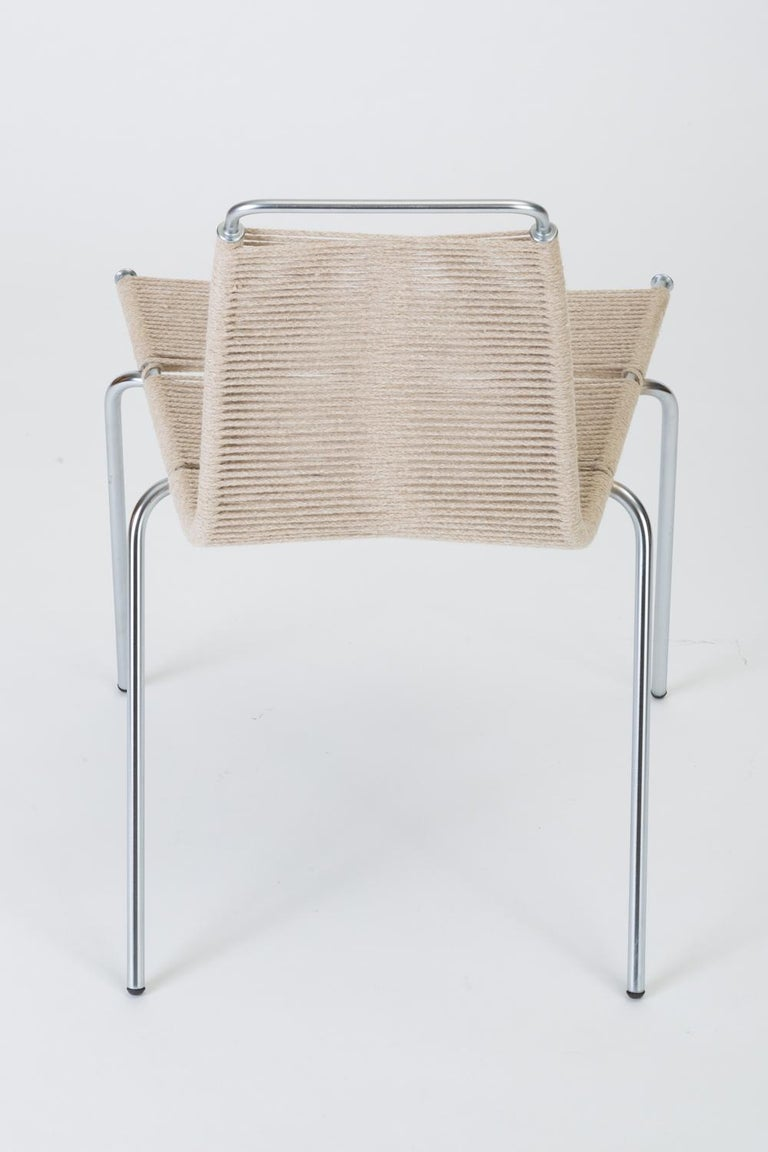 Single PK-1 Dining or Accent Chair by Poul Kjærholm for E Kold Christensen For Sale 1
