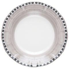 "Single plate, Vietri Collection Handmade ceramic, without ""cornetto"""