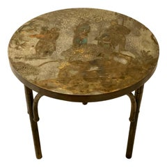 Single Round LaVerne Side Table