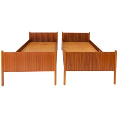 Scandinavian Modern Twin Bed by Westnofa