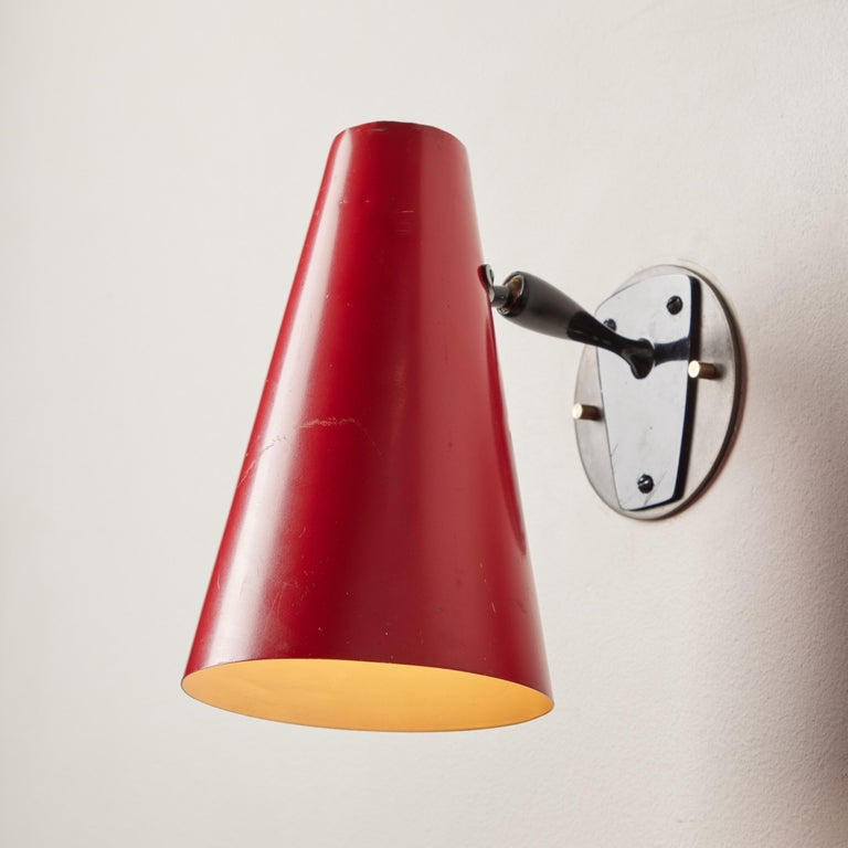 Swiss Single Sconce by BAG Turgi For Sale