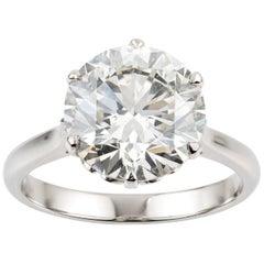 Single Stone Diamond Ring