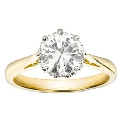 Single Stone Diamond Solitaire Ring