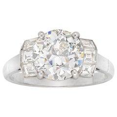 Single Stone Solitaire Diamond Ring