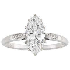 GIA Certified 1.51 Internally Flawless Solitaire Diamond Ring