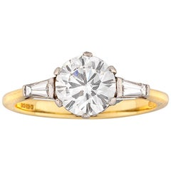GIA Certified 1.50 Carat Solitaire Diamond Ring