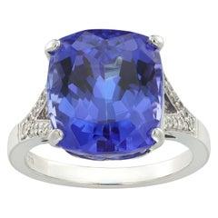 Single Stone Tanzanite Ring