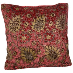 "Venetia Studium/Fortuny Velvet Cushion-the ""Bizarre"" Pattern"