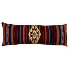 Single Vintage Decorative Saltillo Blanket Pillow