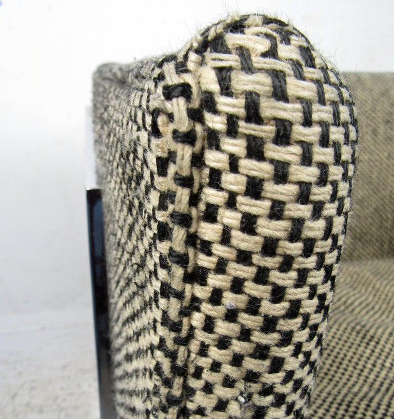 Single Vintage Modern Milo Baughman Chair In Good Condition For Sale In Brooklyn, NY