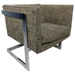 Single Vintage Modern Milo Baughman Chair