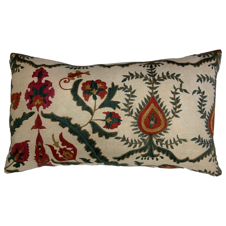 Single Vintage Suzani Pillow