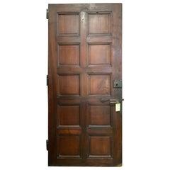 Single Walnut Door from France