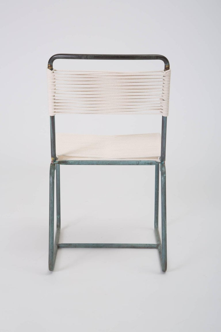 Bronze Single Walter Lamb Dining Side Chair For Sale