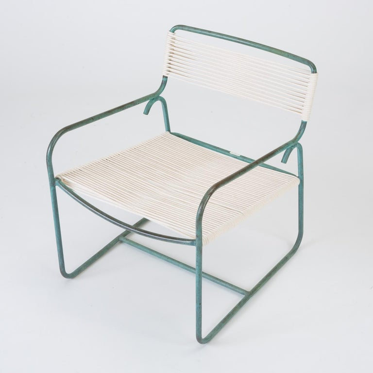Mid-Century Modern Single Wide Lounge Chair by Walter Lamb for Brown Jordan For Sale