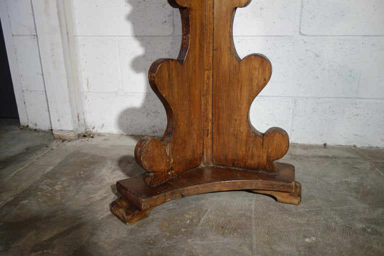Single Wood Renaissance Candelabra 4