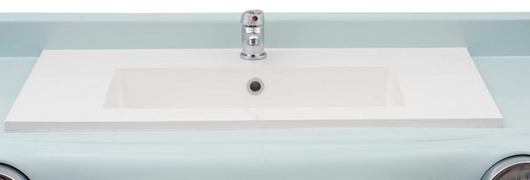 Sink, Model Michelle, Original Handcrafted Sink In New Condition For Sale In Roma, IT