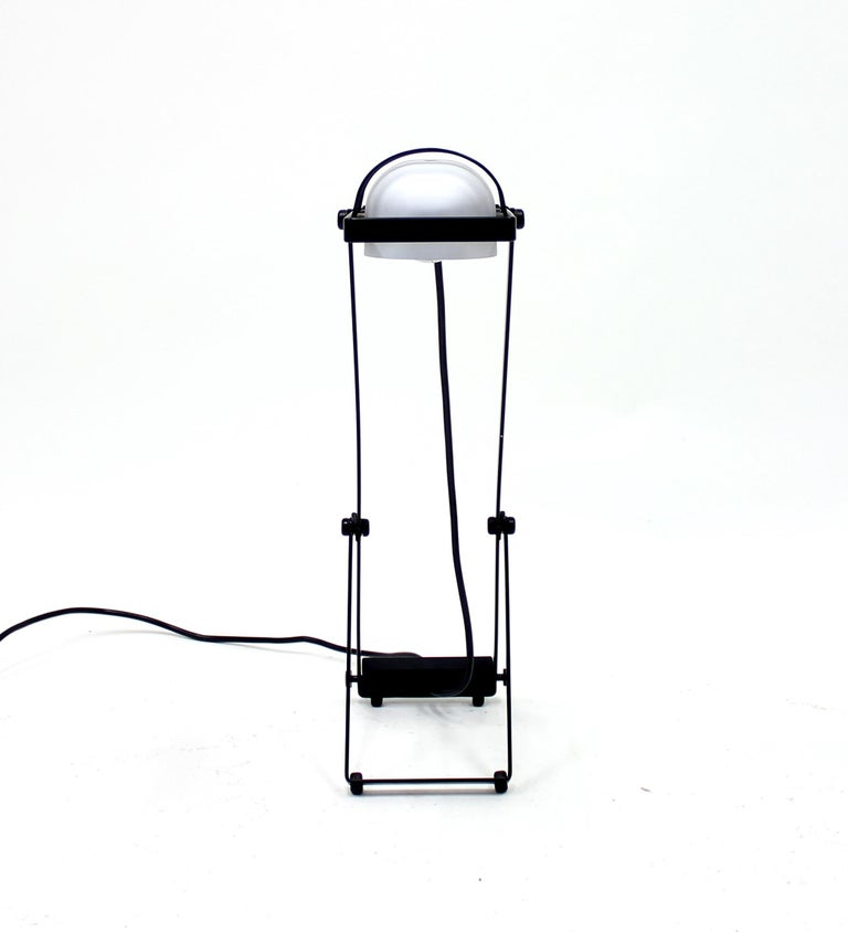 Metal Sintesi Table Lamp by Ernseto Gismondi for Artemide, 1970s For Sale