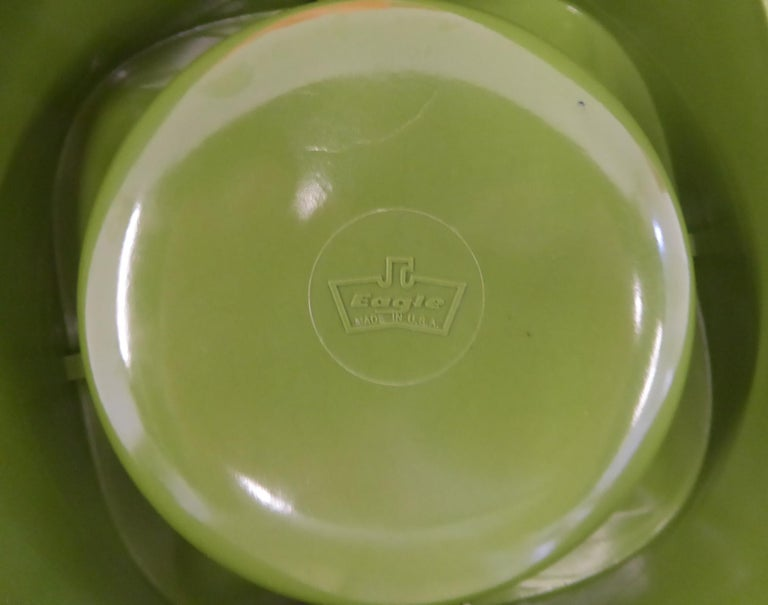 Mid-20th Century Sinus Stackable Ashtray Group of by Walter Zeischegg for Helit of Germany, 1966 For Sale