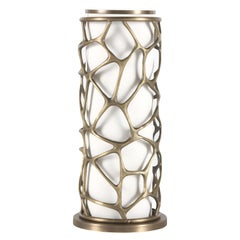Sioraf Table Lamp in Brass by Roberto Cavalli Home Interiors