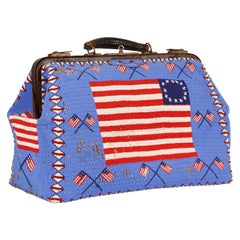 Sioux Beaded Patriotic Doctor's Bag, Early 20th Century
