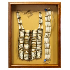 Sioux Dentalia Shell Choker and Breastplate