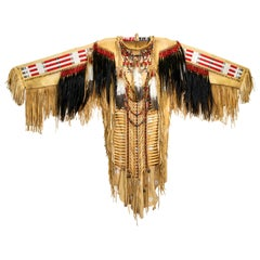 Sioux Style Highly Decorated War Shirt
