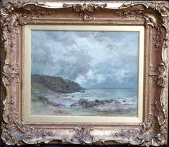 Machrihanish Seascape - Scottish Impressionist art oil painting Argyle Scotland