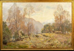 No. 4 The Birk And The Bracken, dated 1913