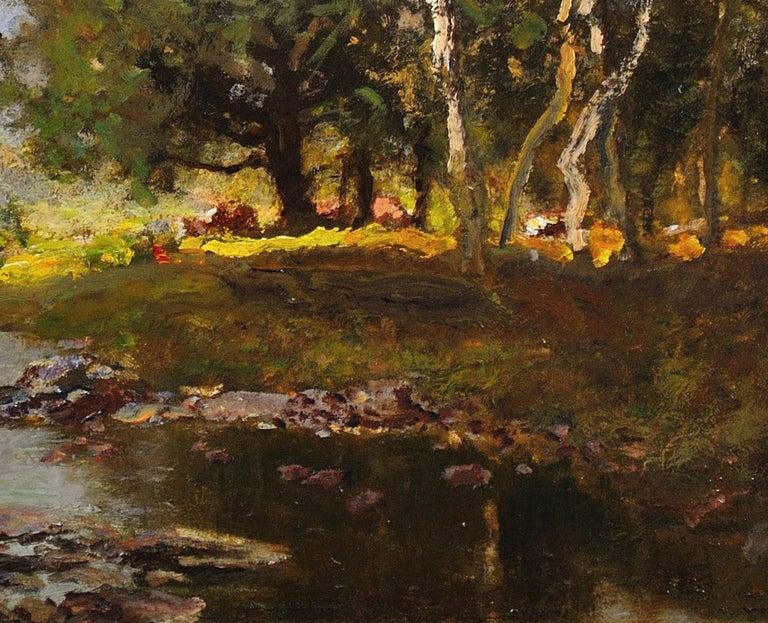 River Tay, Scotland. Sir David Murray.Original Scottish Oil Painting circa 1880s 8