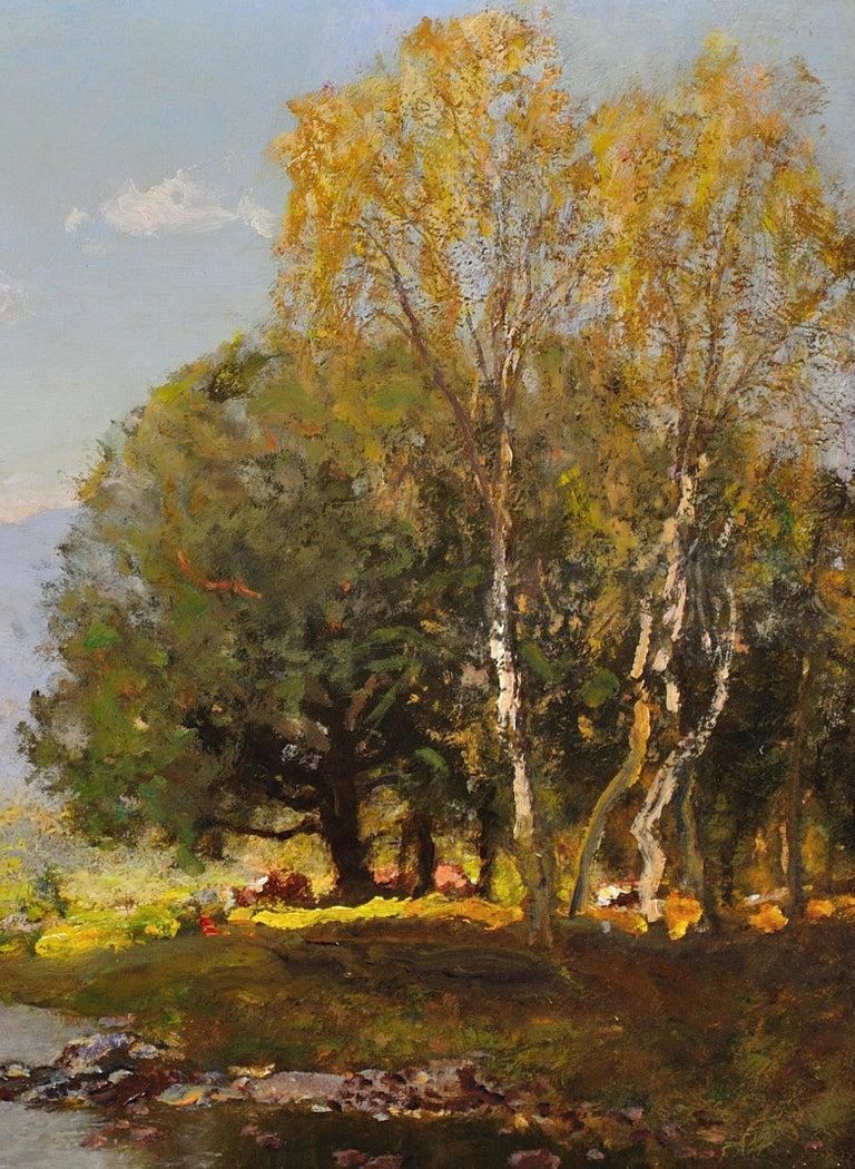 River Tay, Scotland. Sir David Murray.Original Scottish Oil Painting circa 1880s 10