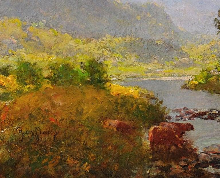 River Tay, Scotland. Sir David Murray.Original Scottish Oil Painting circa 1880s 7