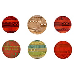 Sir Eduardo Luigi Paolozzi Wedgwood Plates, Variations on a Geometric Theme