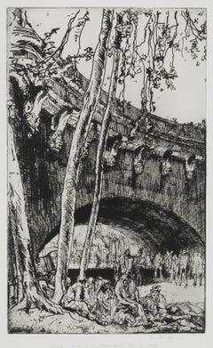 Arch of the Pont Neuf, Paris