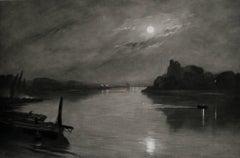 The Night Picket Boat at Hammersmith