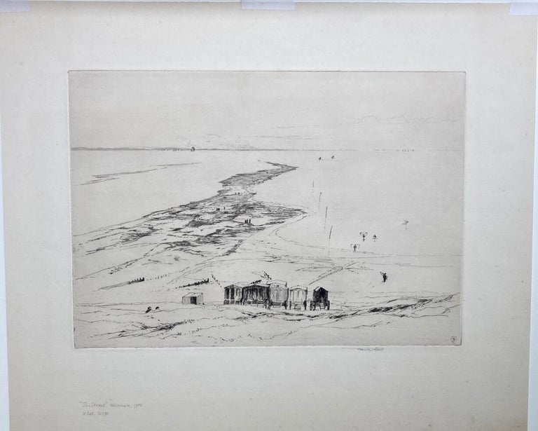 The Street, Whitstable - Print by Sir Frank Short
