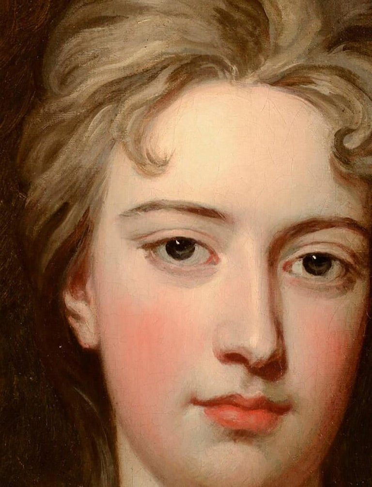 Portrait of a Lady - Painting by Sir Godfrey Kneller