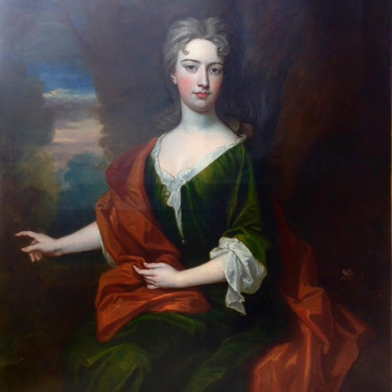Sir Godfrey Kneller Portrait Painting - Portrait of a Lady