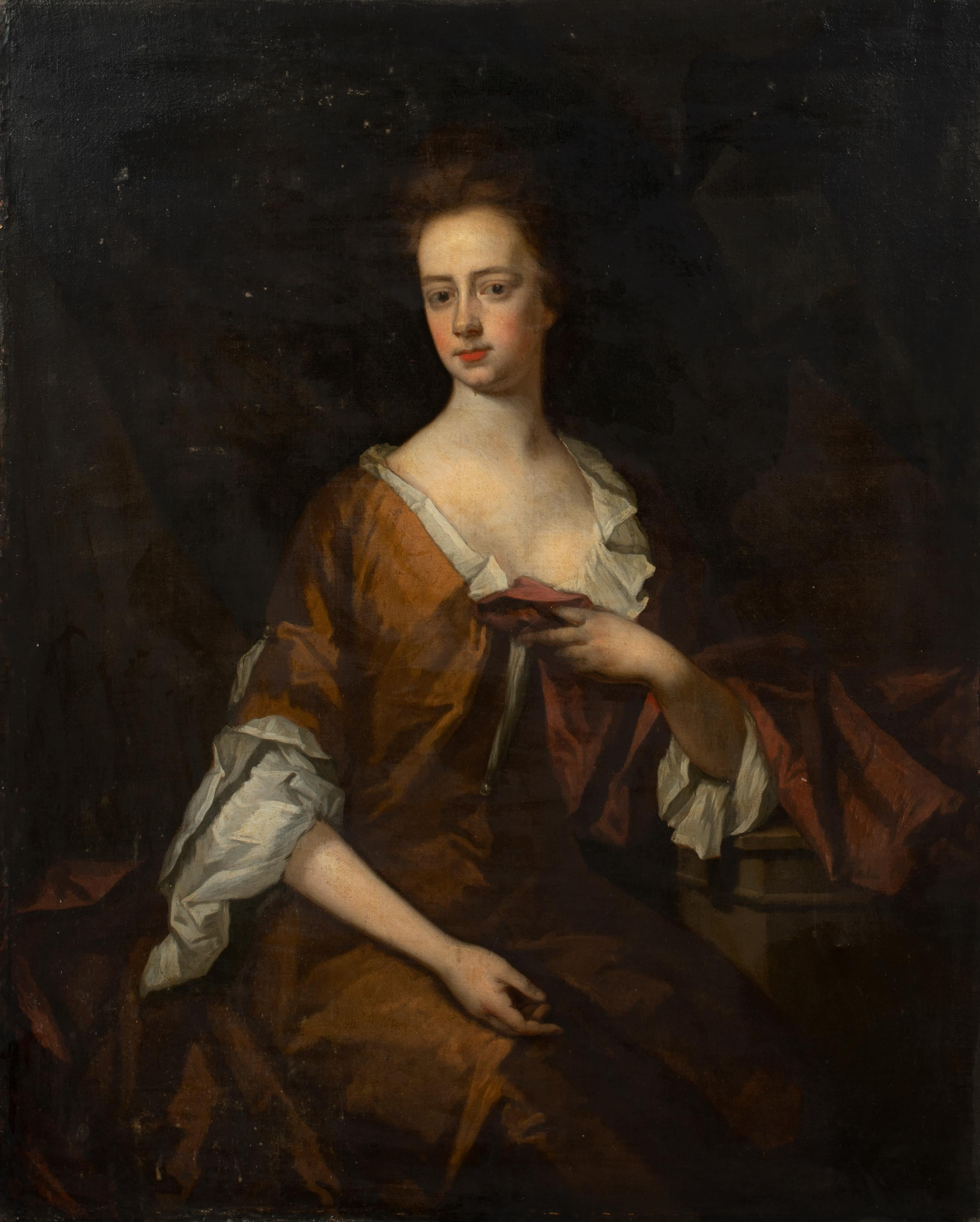 Portrait of Mrs Carr, 17th Century