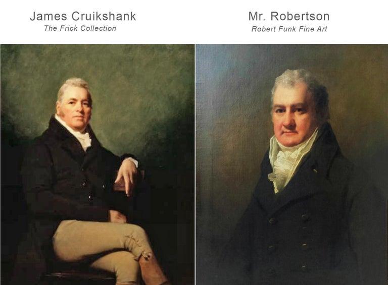Half Length Portrait of Mr. Robertson of Edinburgh For Sale 6