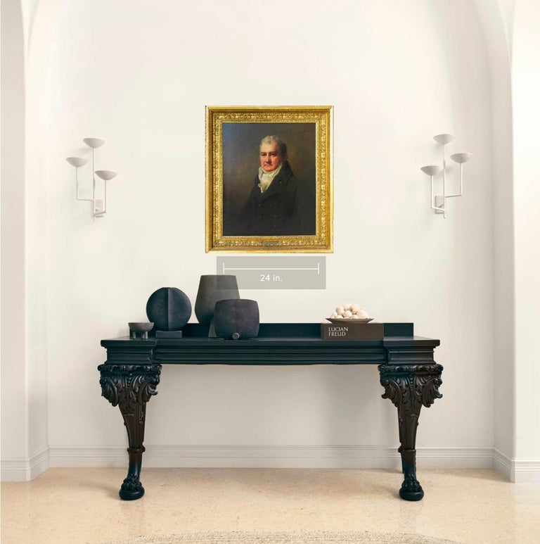 Half Length Portrait of Mr. Robertson of Edinburgh For Sale 2