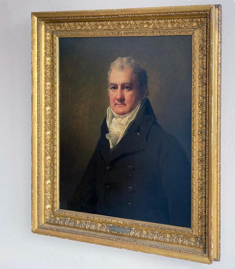 Half Length Portrait of Mr. Robertson of Edinburgh For Sale 10