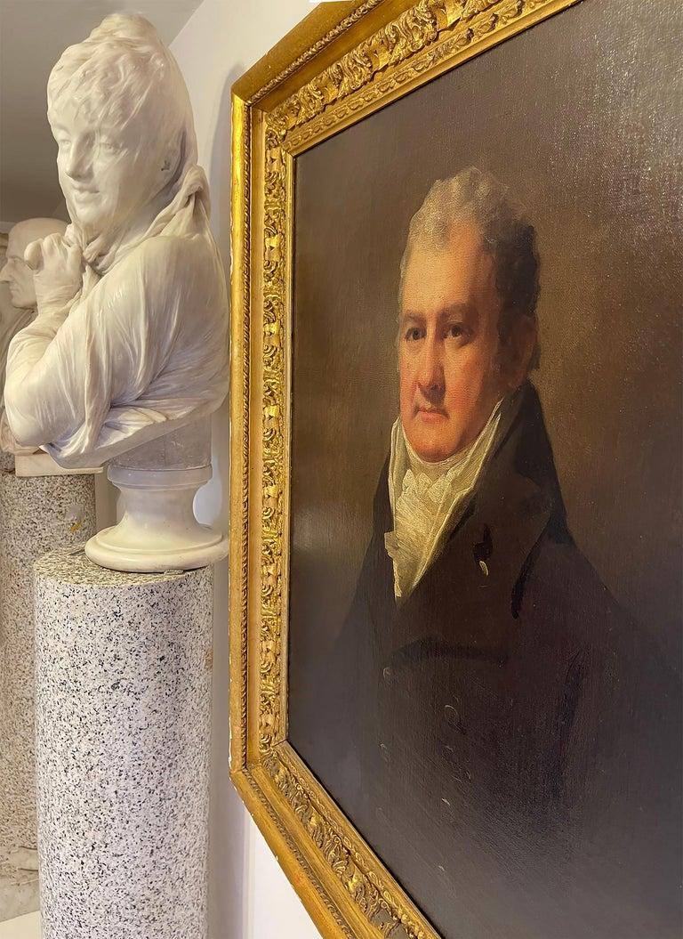 Half Length Portrait of Mr. Robertson of Edinburgh For Sale 1