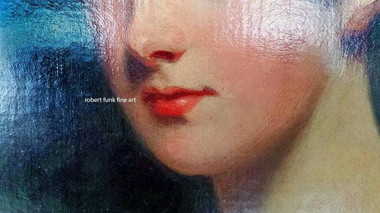 Portrait of Lady Bagot - Niece to the Duke of Wellington - Painting by Sir John Hoppner