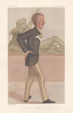 Lord Sutherland-Leveson-Gower, Vanity Fair portrait chromolithograph, 1877