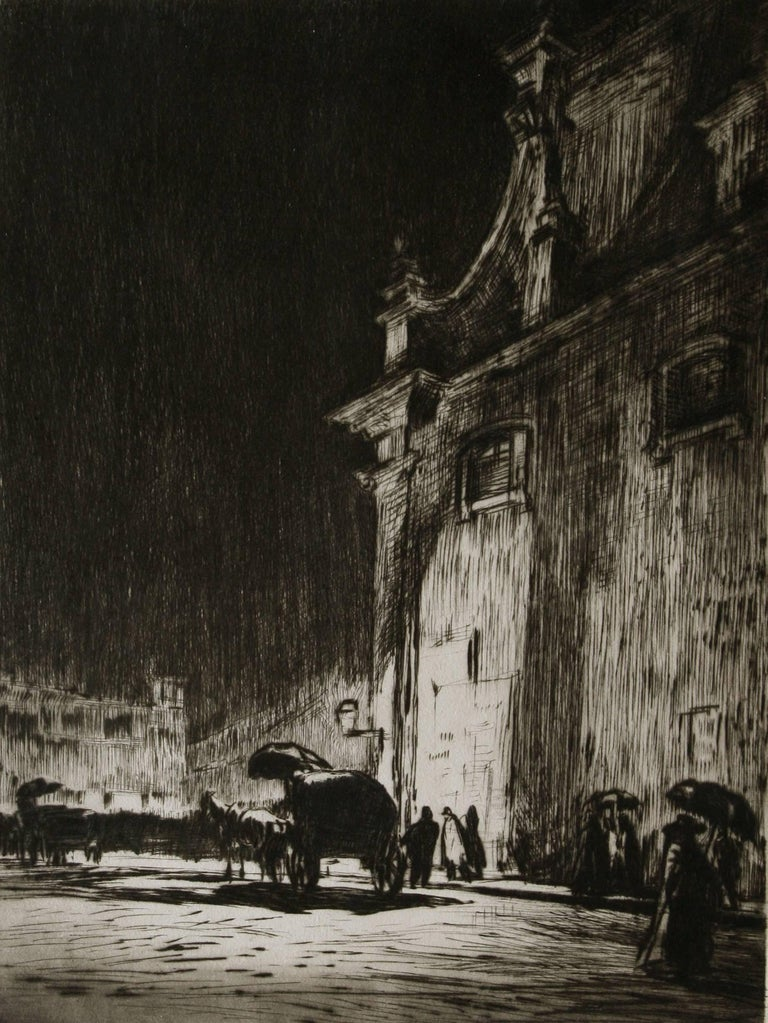 Rainy Night in Rome.  For Sale 1