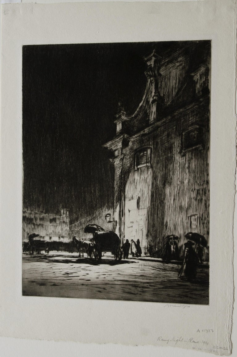 Rainy Night in Rome.  For Sale 2